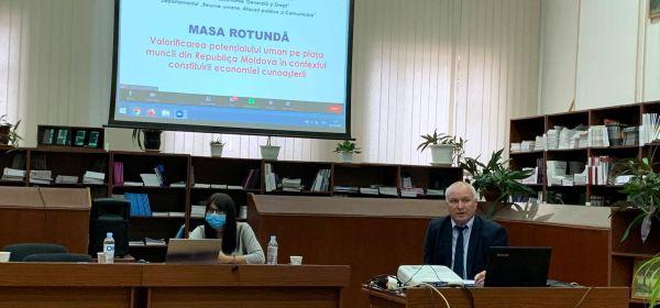 Valorificarea potențialului uman pe piața muncii din Republica Moldova în contextul constituirii economiei bazate pe cunoaștere